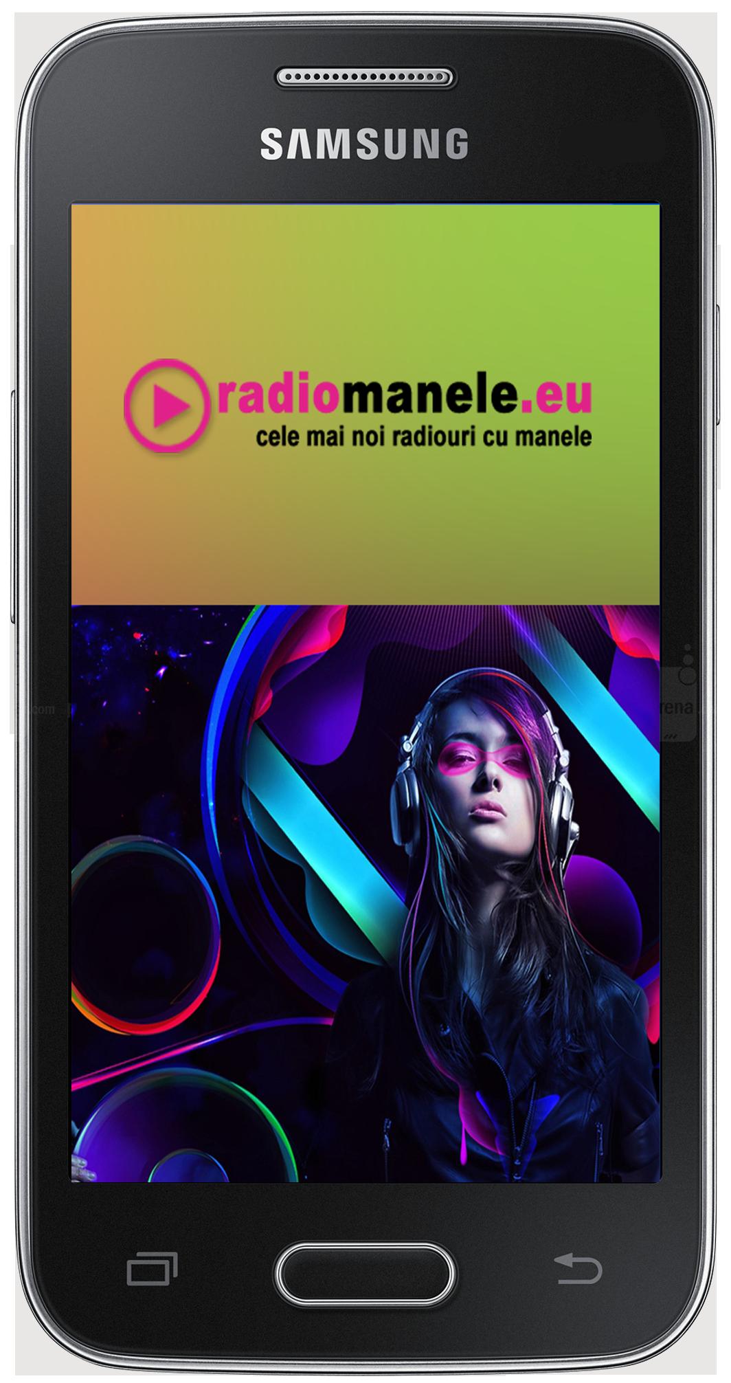 Aplicatie android Radio Manele EU